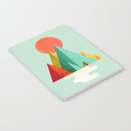 Little Geometric Tipi Notebook