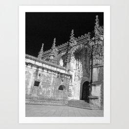 Convent of Christ Art Print