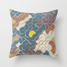 Abstract Geometric Artwork 86 Throw Pillow
