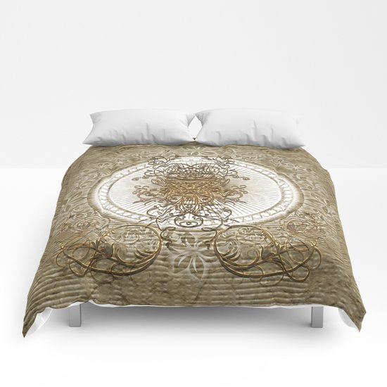 Wonderful decorative design  Comforters