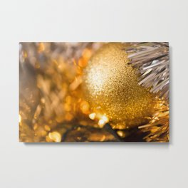 Golden Cheer III Metal Print