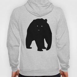 Bear Black Silhouette Pet Animal Cool Style Hoody