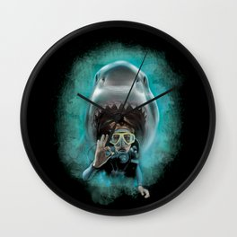 Shark! Wall Clock