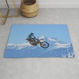 Revelstoke Ride - MotoX Racing in British Columbia Rug