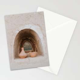 Pottery in Moroccan wall - The Morocco series - Photo print salmon wall Stationery Cards