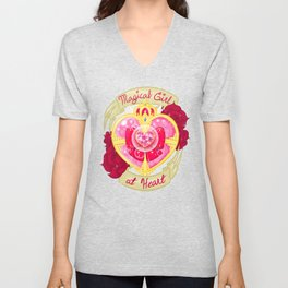 Magical Girl At Heart Unisex V-Neck
