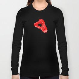 3d Heart <3 Long Sleeve T-shirt