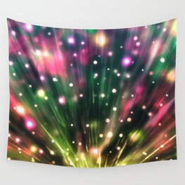 Brilliant Fireworks Wall Tapestry