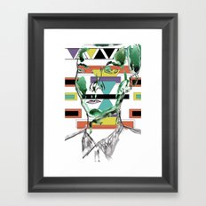 Rectangle Meets Square Framed Art Print