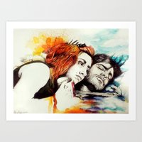 eternal sunshine Art Prints featuring Eternal Sunshine by Alycia Plank