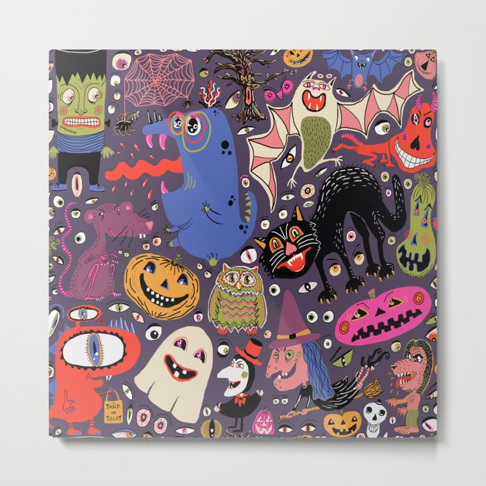 Yay for Halloween! Metal Print