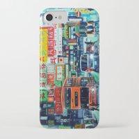 hong kong iPhone & iPod Cases featuring Hong Kong by Corrado Pizzi