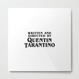 Quentin Metal Print