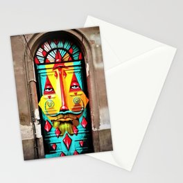 Budapest Painted Doorway Stationery Cards