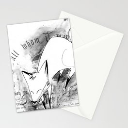 minima - deco fox Stationery Cards