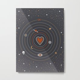 Love Universe Metal Print