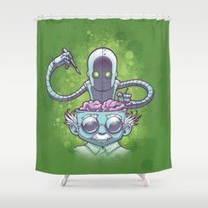 Tinkering Shower Curtain