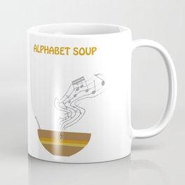 Alphabet Soup Coffee Mug