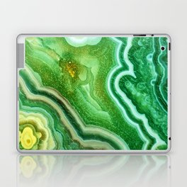 Green Onyx Marble Laptop & iPad Skin