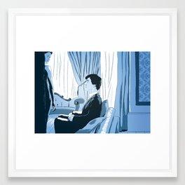 A scandal in fanart Framed Art Print