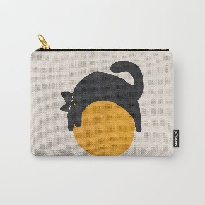 Cat with ball Carry-All Pouch