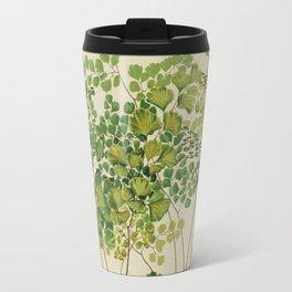Maidenhair Ferns Travel Mug