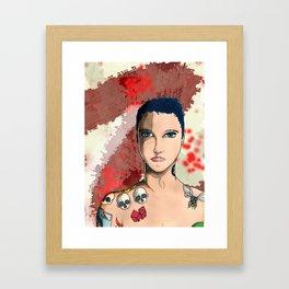 Tattoo Kid Framed Art Print