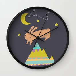 The Mountaineer Wall Clock