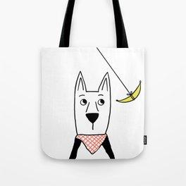 Dogs: Hanna Banana Tote Bag