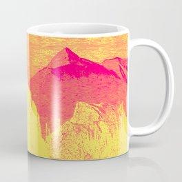 Hast thou no voice, O Peak Coffee Mug