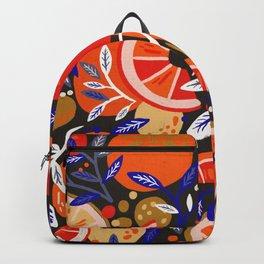 Fresh Citrus Mesh – Charcoal Backpack