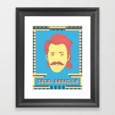 Gogol Bordello Framed Art Print