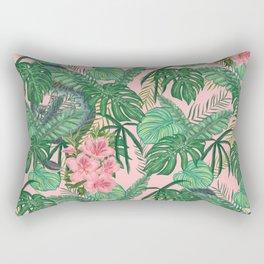 Serpents and Flowers Rectangular Pillow