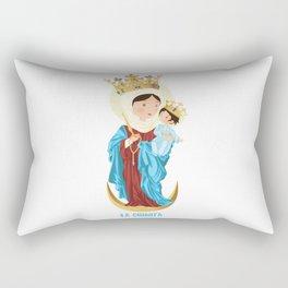 Nuestra Señora del Rosario de Chiquinquirá Rectangular Pillow
