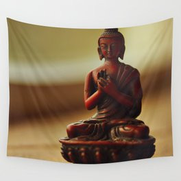Peace from Buddha Wall Tapestry