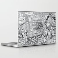 rush Laptop & iPad Skins featuring Rush Hour by farsidian