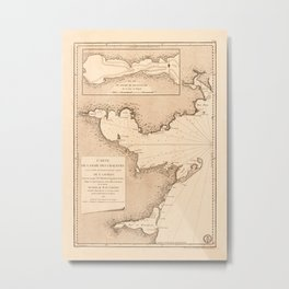 Gulf O St Lawrence 1780 Metal Print