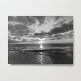 Sunset in Cape Cod Metal Print