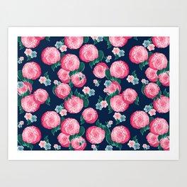 Spring Floral Dream #1 #decor #art #society6 Art Print