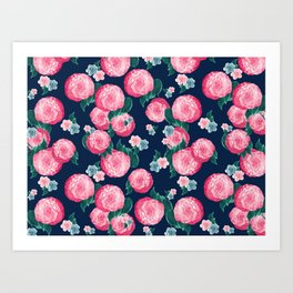 Spring Floral Dream #1 #decor #art #society6 Art Print