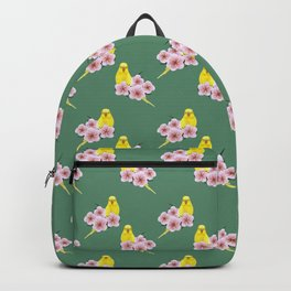 Yellow Budgerigar Backpack