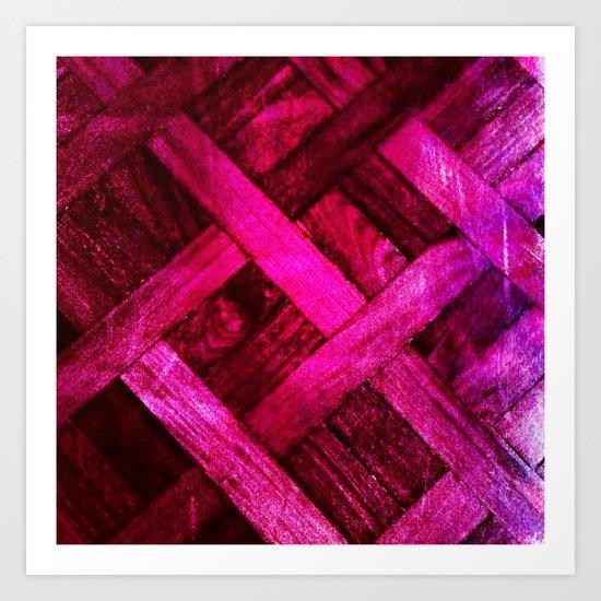 Textura 3 Art Print