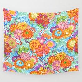 Jubilee Blooms Wall Tapestry