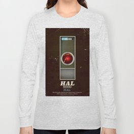 HAL 9000 Vintage magazine advertisement Long Sleeve T-shirt
