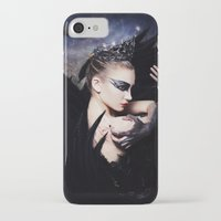 swan queen iPhone & iPod Cases featuring Odile - Swan Queen  by Jay Aheer