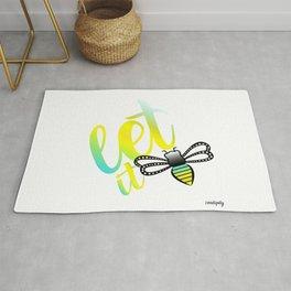 Let it Bee Rug