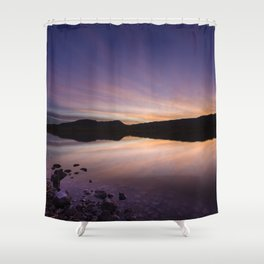 Pahranagat National Wildlife Refuge Sunset #2 Shower Curtain