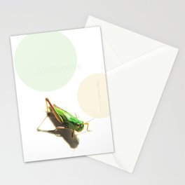 Insect Portrait | Grasshopper Stationery Cards