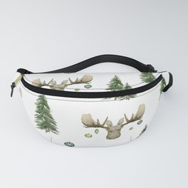 The Moose Wonderful Time - Pattern Fanny Pack