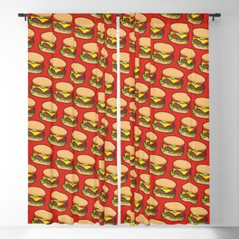 Cheeseburger Blackout Curtain